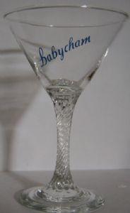 Babycham Cocktail Glasses